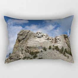 Mount Rushmore National Memorial Rectangular Pillow