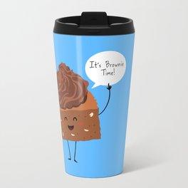 BROWNIE TIME (Blue version) Travel Mug