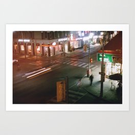 Toronto - Crosswalkin' Art Print