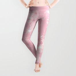Pink Sakura Leggings