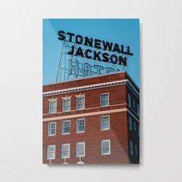 Stonewall Jackson Hotel Metal Print