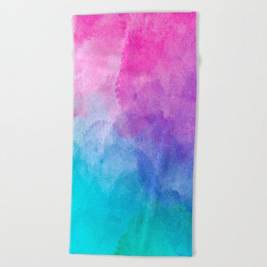 Cotton candy Beach Towel