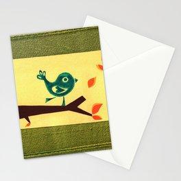vuelo de otoño Stationery Cards