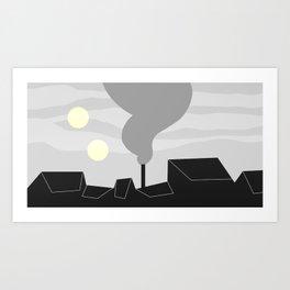 Geometric City 1 Art Print