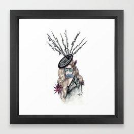Aphrodite Lady Flora  Framed Art Print