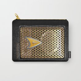Retro Classic Old Vintage Communicator radio iPhone 4 4s 5 5s 5c, ipod, ipad, pillow case and tshirt Carry-All Pouch