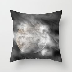 A Place I've Never Been Throw Pillow