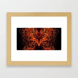 Devilish Shroud Framed Art Print