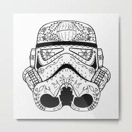 Dia De Los Troopers Metal Print