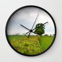 irish Wall Clocks featuring Irish landscape by Aaron MacDougall