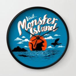 Monster Island Wall Clock