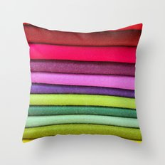 FABRIC FROLIC Throw Pillow