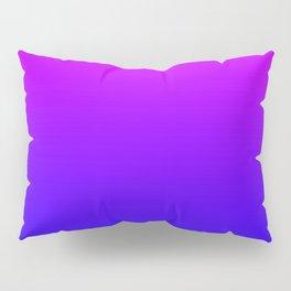 Fuchsia/Violet/Blue Ombre Pillow Sham