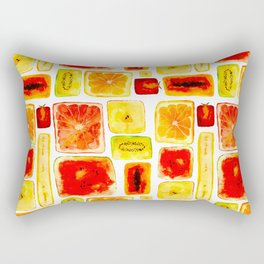 Juicy cubism Rectangular Pillow