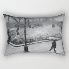 Scene Through the Lens Rectangular Pillow