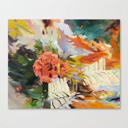 Seeking Stillness [detail 1] Canvas Print
