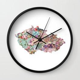 Czech Republic Wall Clock