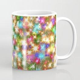 Star colorful christmas abstract Coffee Mug