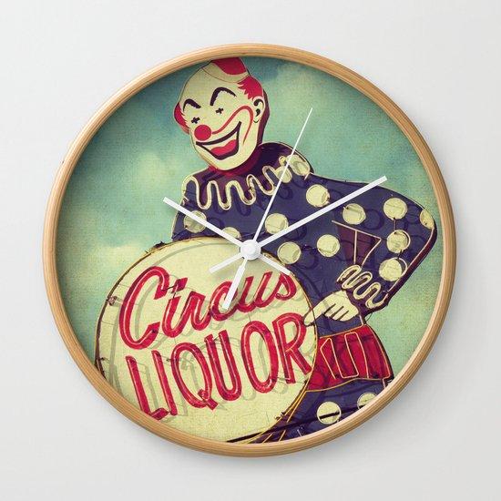 Circus Liquor, N. Hollywood, CA. Wall Clock