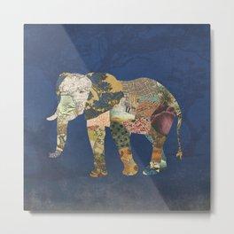 Elephant - The Memories of an Elephant Metal Print