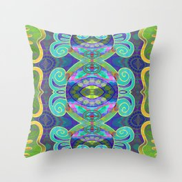 Boujee Boho Cooling Medallion Throw Pillow