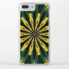 A Fanfare of Gaillardia Flowers Clear iPhone Case