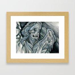 Angelus Mortus Framed Art Print