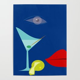 Cocktail Martini Poster