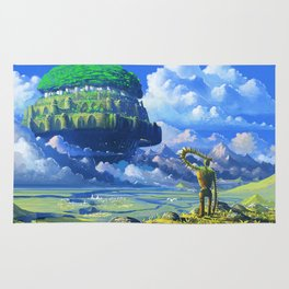 Castle in the sky Rug