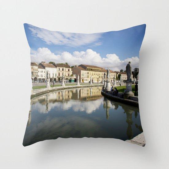 Padova, Italy.  Throw Pillow