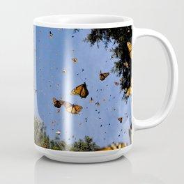 Monarchs butterflies fly Coffee Mug