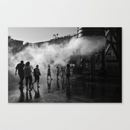 Launch Command Canvas Print