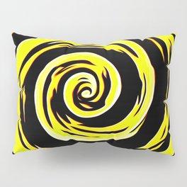 Hypnotic Yellows Pillow Sham