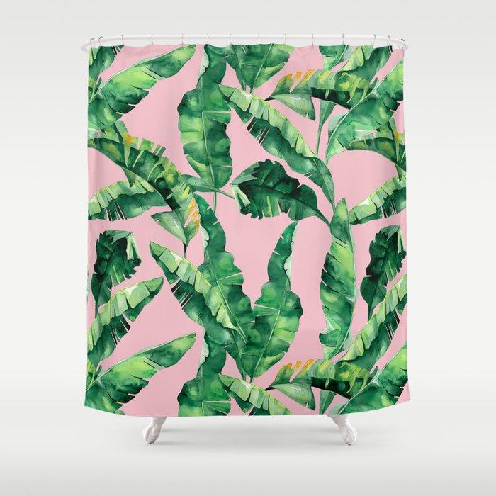 So Tropical Shower Curtain