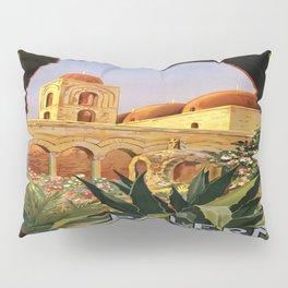 Vintage poster - Palermo Pillow Sham