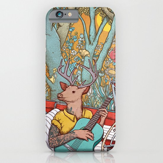 A ride and a song iPhone & iPod Case