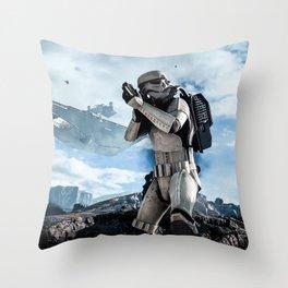 Battlefront Throw Pillow