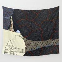 kaiju Wall Tapestries featuring kaiju by thefleafarm (Amy Wright)