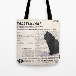His Master's Voice - Cat Tote Bag