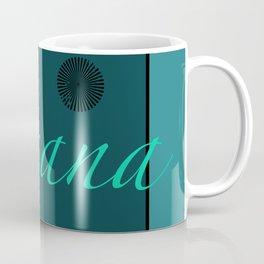 Asana Blue Coffee Mug