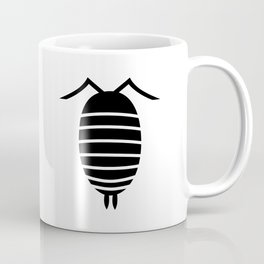 Bugs: abstract Isopod Coffee Mug