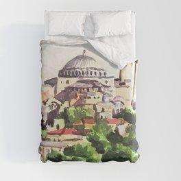 Istanbul Turkey Hagia Sophia Duvet Cover