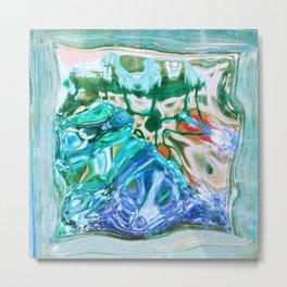 427 - Abstract glass design Metal Print