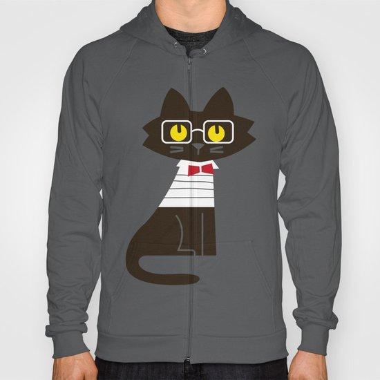 Fitz - Preppy cat Hoody