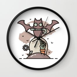 Candy giver Wall Clock