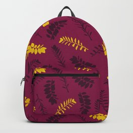Gold Leaves Backpack