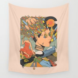 A Shattered Mind Wall Tapestry