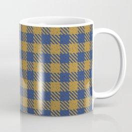 Abercrombie, Alpine, Resolution Blue, Camel, Plaid Coffee Mug