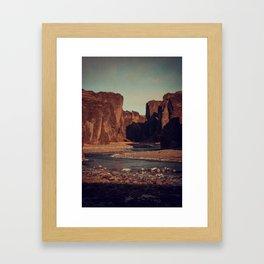Carved Framed Art Print