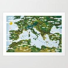 European Toys Art Print